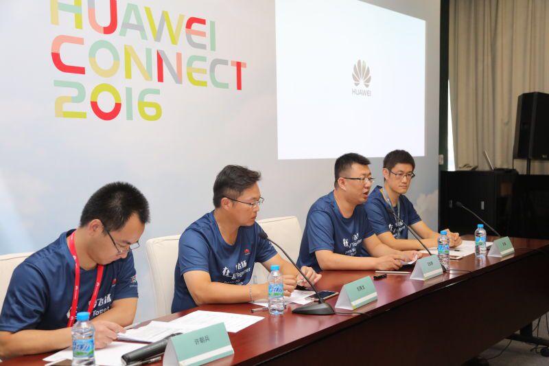 การเปิดตัวโซลูชั่น CaaS 2.0 ในงาน Huawei Connect 2016